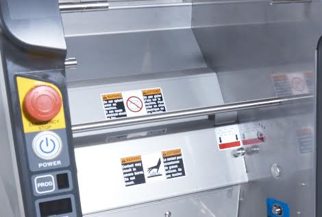 ASM865A Rice Sheet Maker's hopper keeps sushi rice at an ideal temperature.