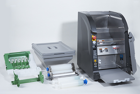 Simple to use Rice Sheet Maker ASM865A for commercial sushi production