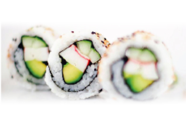 Perfect California Rolls made with AUTEC Sushi Robot ASM880A